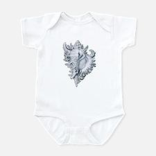 Exquisite Shell Infant Bodysuit