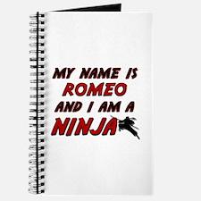 my name is romeo and i am a ninja Journal