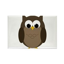 Owls Rectangle Magnet (10 pack)