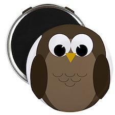 Unique Owls Magnet