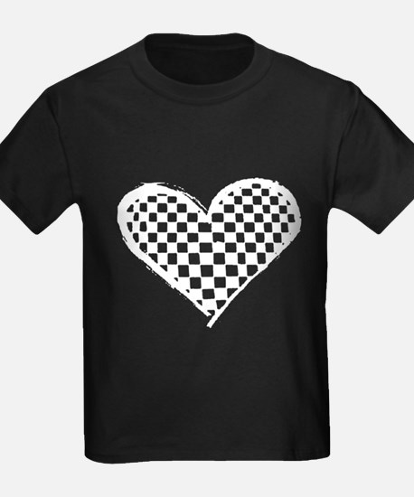 Checkered Heart T