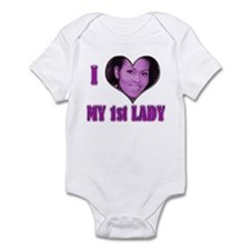 I (Heart) My 1st Lady - Infant Bodysuit