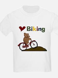 Red Bicycle Love Biking T-Shirt