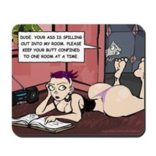 One Room At A Time Comic Strip Mousepad