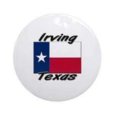 Irving Texas Ornament (Round)