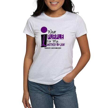 I Wear Purple For My Mother-In-Law 9 PC Women's T-