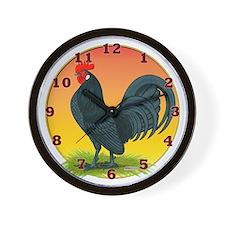 Good Morning Dutch Bantam Wall Clock