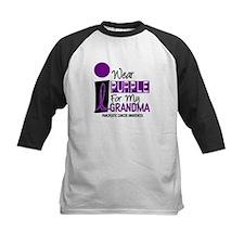 I Wear Purple For My Grandma 9 PC Tee