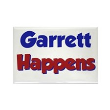 Garrett Happens Rectangle Magnet