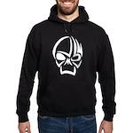 Tribal Skull (Black) Hoodie (dark)