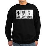 Life Love Tattoo Sweatshirt (dark)