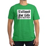 Tattooed For Life Men's Fitted T-Shirt (dark)