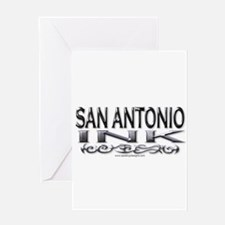 San Antonio Ink Greeting Card