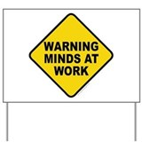 Caution Yard Signs