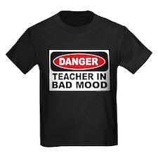 Danger Teacher in Bad Mood T