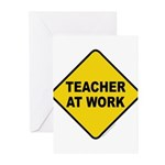 Teacher At Work Greeting Cards (Pk of 20)