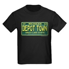 Depot Town License Plate T
