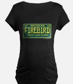 Firebird License Plate T-Shirt