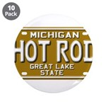 Hot Rod License Plate 3.5