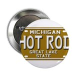 Hot Rod License Plate 2.25