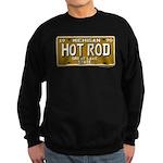 Hot Rod License Plate Sweatshirt (dark)