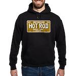 Hot Rod License Plate Hoodie (dark)