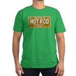 Hot Rod License Plate Men's Fitted T-Shirt (dark)