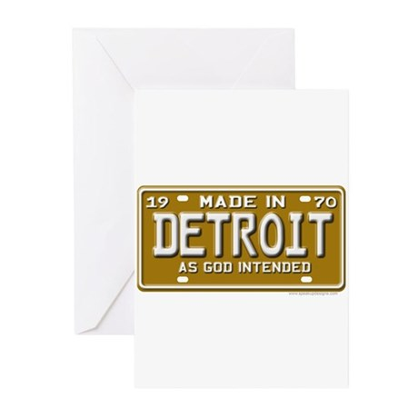 Made in Detroit Greeting Cards (Pk of 20)