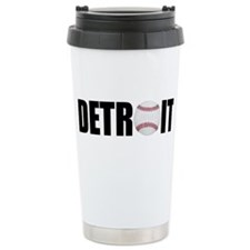 Detroit Baseball Travel Mug
