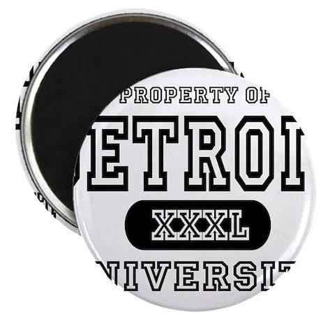 """Detroit University 2.25"""" Magnet (100 pack)"""