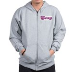 Sexy Girly Lady Zip Hoodie