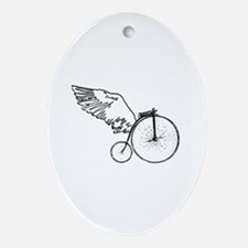 Whimcycle - Oval Ornament