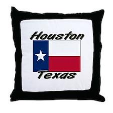 Houston Texas Throw Pillow