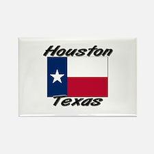 Houston Texas Rectangle Magnet