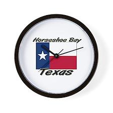 Horseshoe Bay Texas Wall Clock