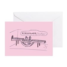 Greeting Cards (Pk of 10): Chocolate Candies