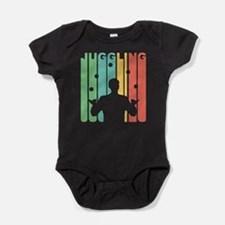 Vintage Juggling Graphic T Shirt Body Suit