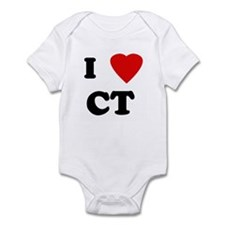 I Love CT Infant Bodysuit