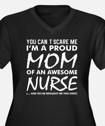 Cant Scare Me Proud Mom Awesome Plus Size T-Shirt