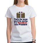 Taxes You'd Save Women's T-Shirt