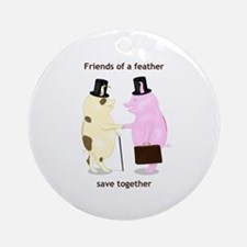 Friends Save Together Ornament (Round)