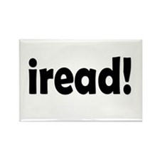 Read! Read! Read! Rectangle Magnet
