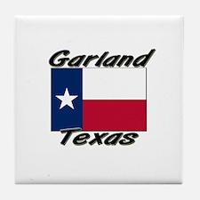 Garland Texas Tile Coaster