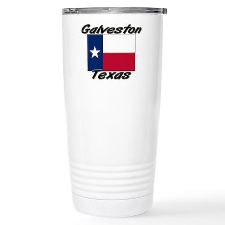 Galveston Texas Stainless Steel Travel Mug