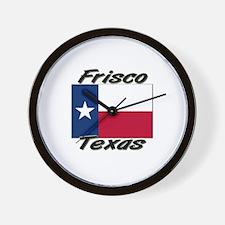 Frisco Texas Wall Clock