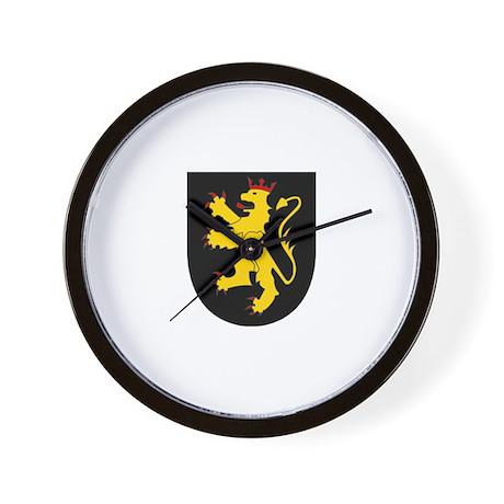 Old Palatinate of the Rhine Wall Clock