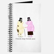 Friends Help Friends Save Journal