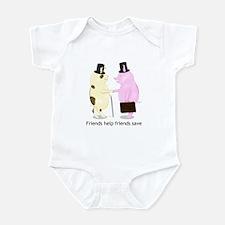 Friends Help Friends Save Infant Bodysuit