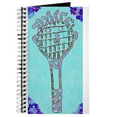 Tennis Racket Journal (Blue)