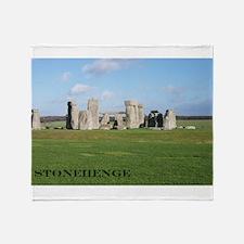 Stonehenge 1 Throw Blanket